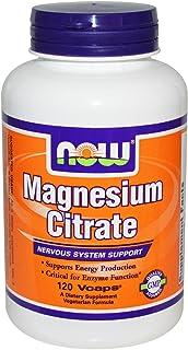 Magnesium Citrate Caps - Now Foods - 120 - VegCap