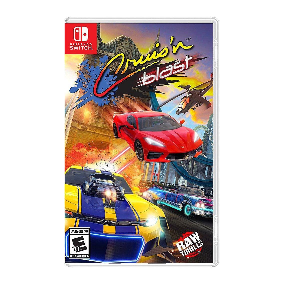 Cruis'n Blast for Nintendo Switch + $10 GC