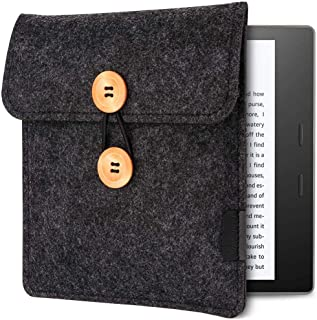 Emoly Kindle Sleeve for Kindle Oasis 7'' E-Reader - Protective Insert Felt Hybrid Laptop Sleeve Case Cover Bag Fits Kindle...