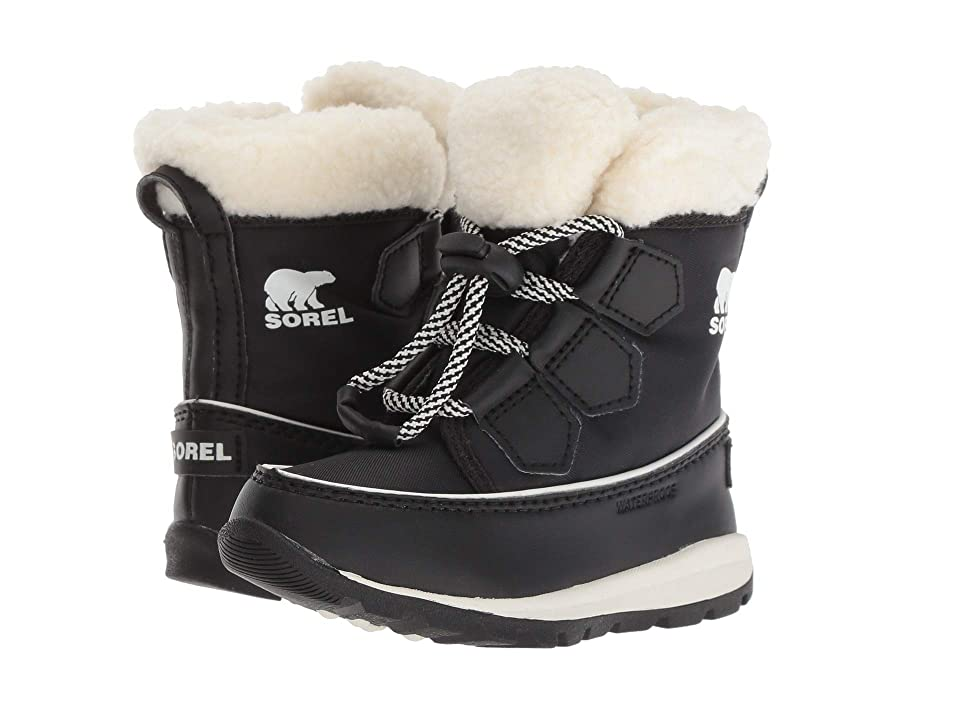 SOREL Kids Whitneytm Carnival (Toddler/Little Kid) (Black/Sea Salt) Girls Shoes