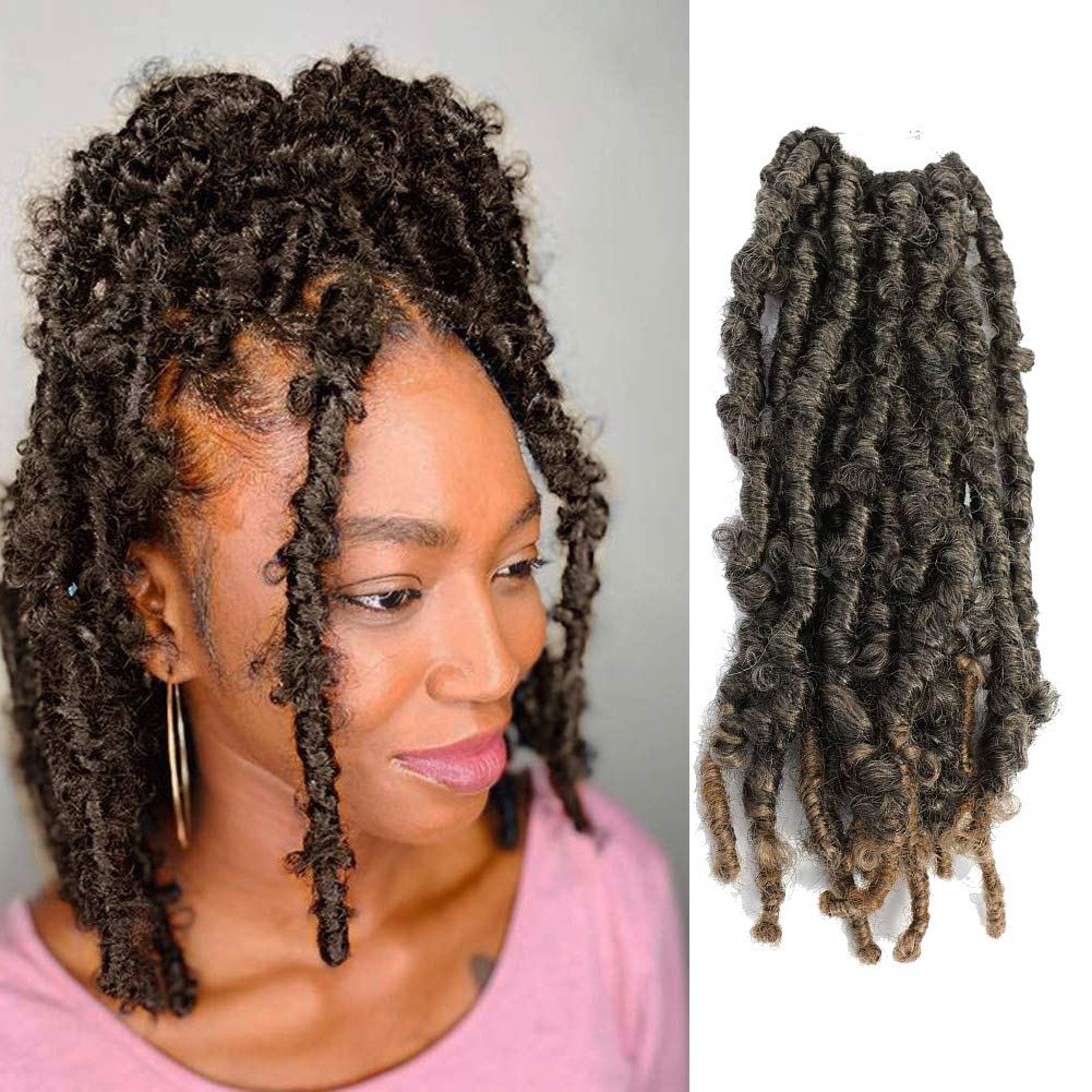 Butterfly Locs Crochet Hair 12 Opening large release sale Pre-Looped 6 Inch sold out Distresse Packs