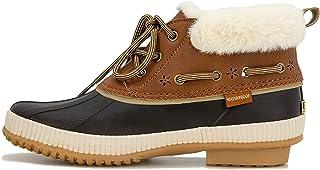 JBU by Jambu Women's Maria Waterproof Ankle Boot, Brown, 6