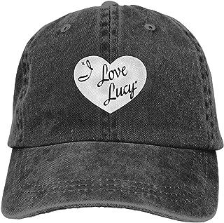 Denim Cap I Love Lucy Baseball Dad Cap Classic Adjustable Sports for Men Women Hat