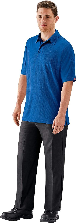 Red Kap Men's Stain Resistant Flat 30W Pants Black Front Work Max Selling rankings 67% OFF