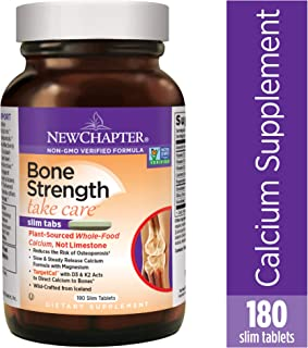 new chapter bone strength slim tabs