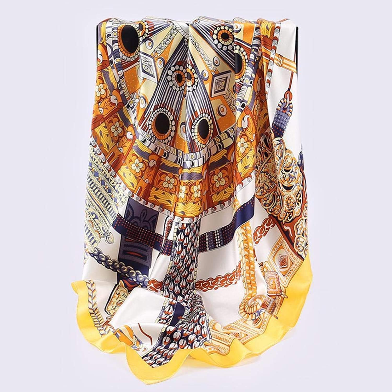 Weiwei Ladies Silk Shawl Silk Silk Send Family Friend 110cm110cm