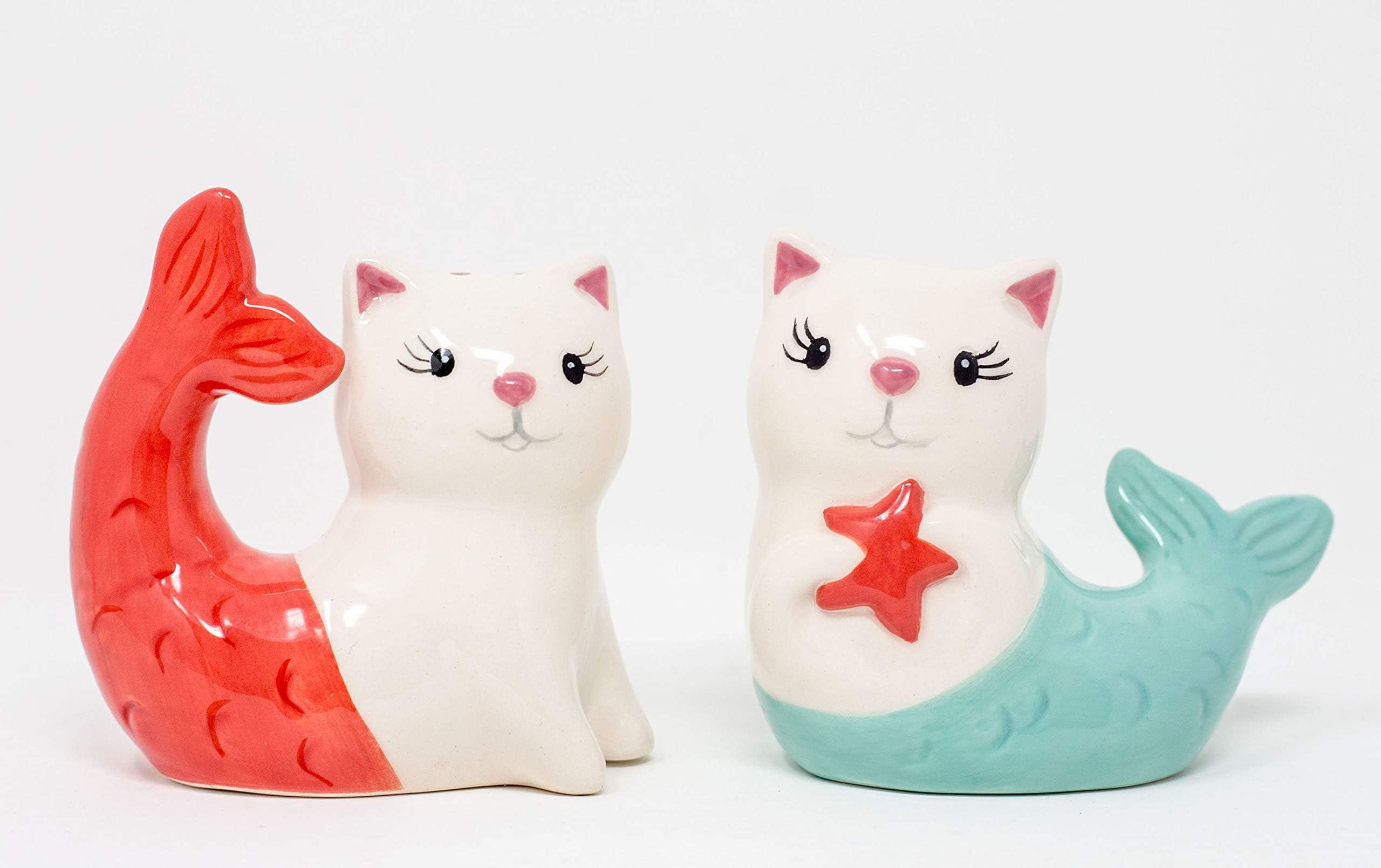 Luxury 25 Inch Salt n pepper Kitten Play Faux Fur Tail.