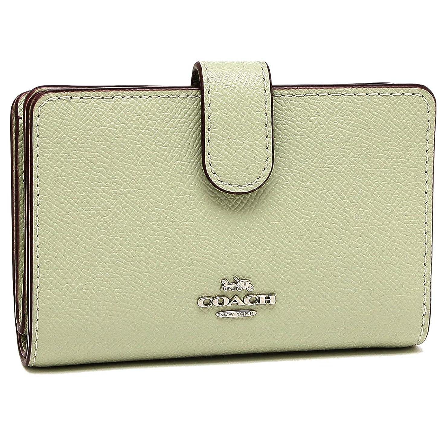 浸透する蒸発材料[コーチ] COACH 財布 (二つ折り財布) F54010 レザー 二つ折り財布 レディース [アウトレット品] [並行輸入品]