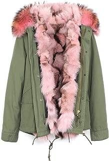 Best pink fur collar parka Reviews