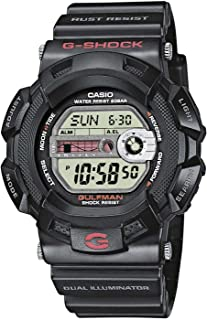 Casio G-9100-1ER Mens G-Shock Digital Chronograph Black Watch