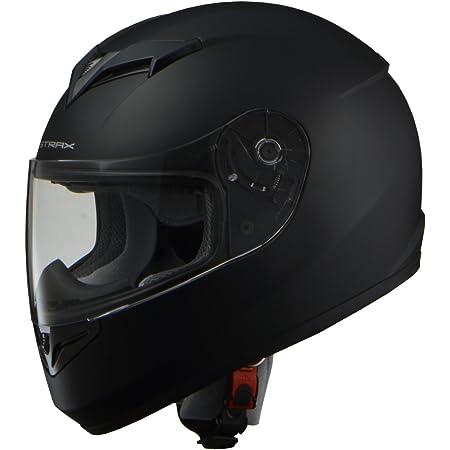 リード工業(LEAD) バイクヘルメット フルフェイス STRAX マットブラック Lサイズ 59-60cm未満 SF-12