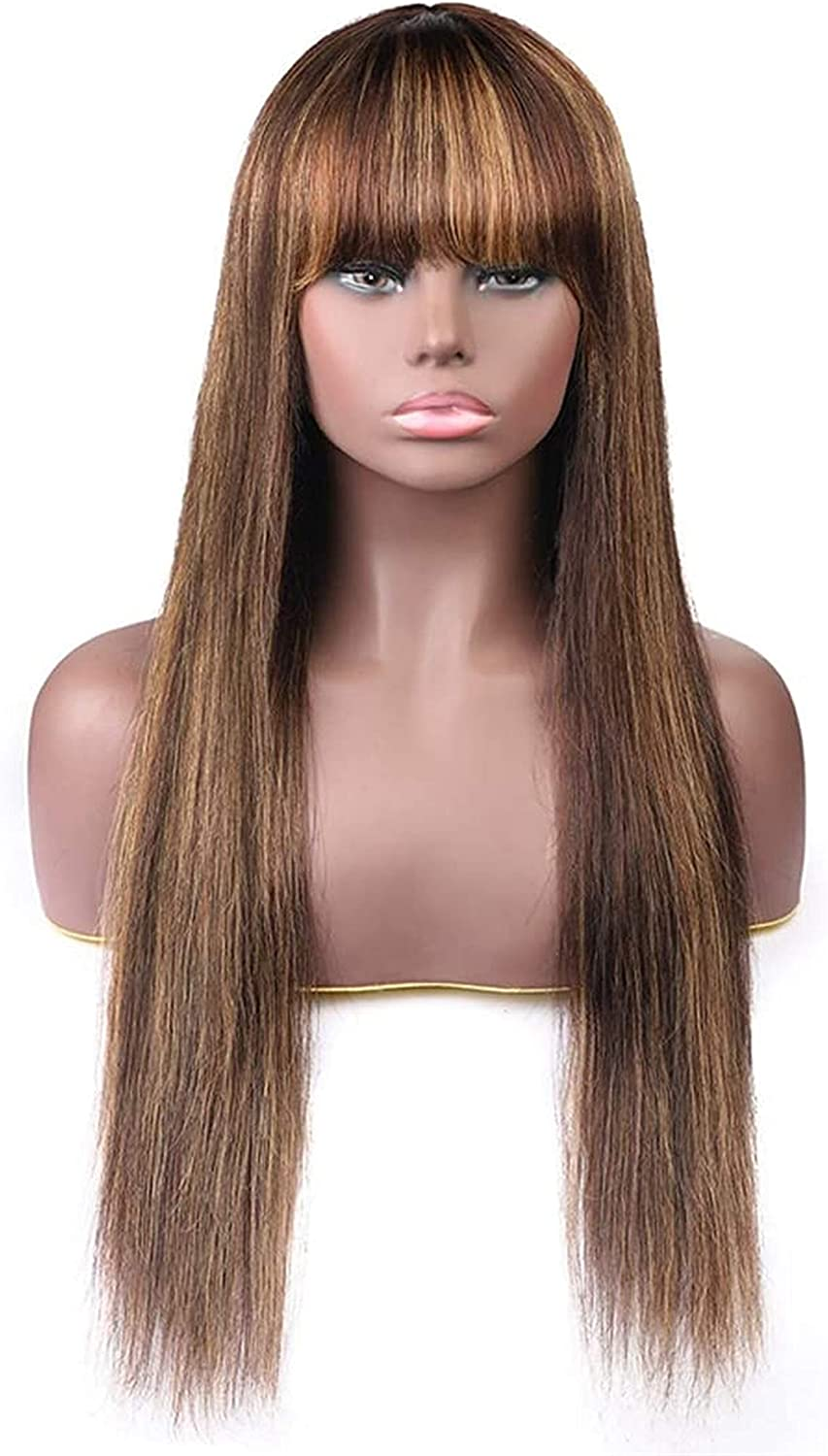 LCNING online shop Wig Wigs lace pre-Human Brown Hair Ranking TOP6 Heat-Resistant Bre