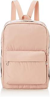 Adidas Classic Adjustable Shoulder Straps Front Pocket Zip-Up Backpack for Women - Beige