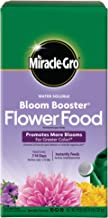 Miracle-Gro Water Soluble Bloom Booster Flower Food 4 lb