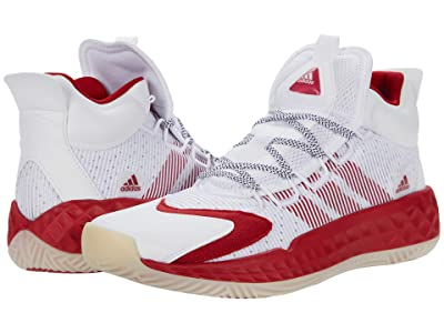 adidas Coll3Ctiv3 2020 Mid (Footwear White/Team Power Red/Chalk White) Shoes