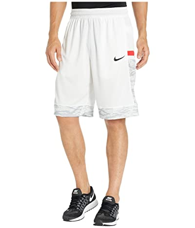 Nike Dry Courtlines Shorts Print (White/Black) Men