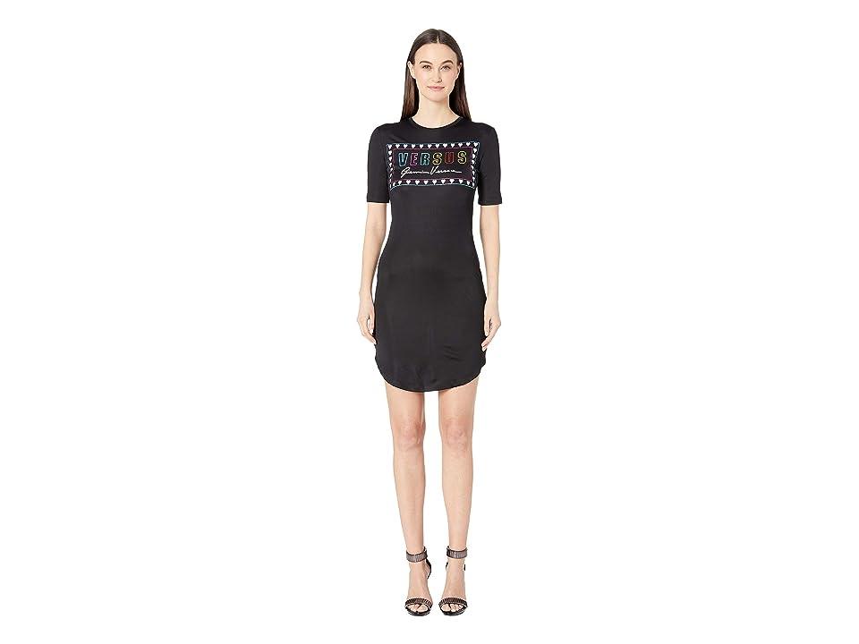 Versus Versace Jersey Gianni Dress (Black) Women