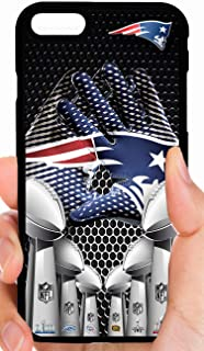 Patriots Gloves 6 X Champs Super Bowl Trophies Center View Football Phone Case Cover - Select Model