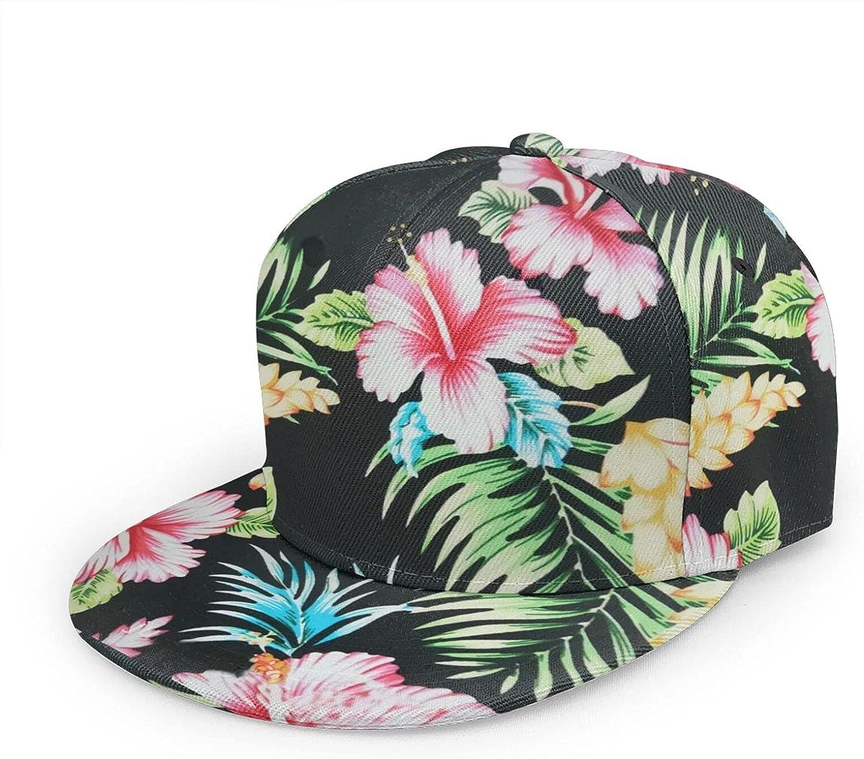 My Moreyea Snapback Hat for Men Adjustable Bill Flat Brim Hip Hop Baseball Cap Fashion Dad Trucker Hats Unisex Women Outdoor