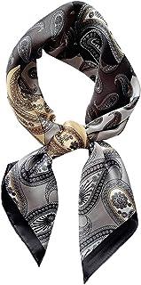 """Square Silk Feeling Neckerchief Handbag Hair Scarf Bracelet Gift For Women/Men 23.6"""" x 23.6"""""""