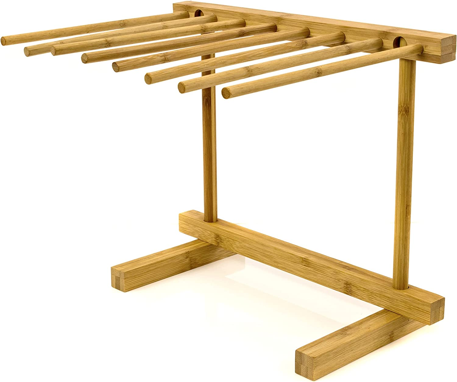 Intriom Bamboo Pasta Colorado Springs Mall Drying Rack Stan and Super sale Spaghetti Dryer