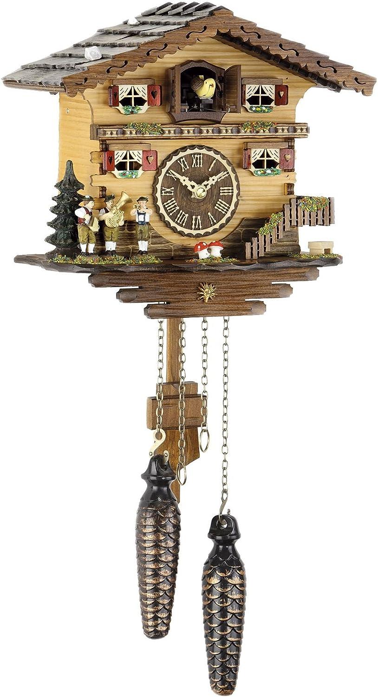 Trenkle Reloj cucú de Cuarzo Casa Suiza TU 458 Q