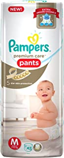 Pampers Premium Care Medium Size Diapers Pants (42 Count)