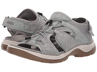 ECCO Sport Offroad Toggle Sandal (Ice Flower/Cocoa Brown) Women