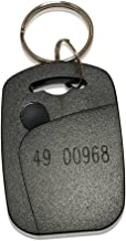 50 Rectangle 26 Bit Proximity Key Fobs Weigand Prox Keyfobs Compatable with ISOProx 1386 1326 H10301 format readers. Works with the vast majority of access control systems