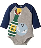 Fendi Kids - Long Sleeve Bowling Graphic Bodysuit (Infant)