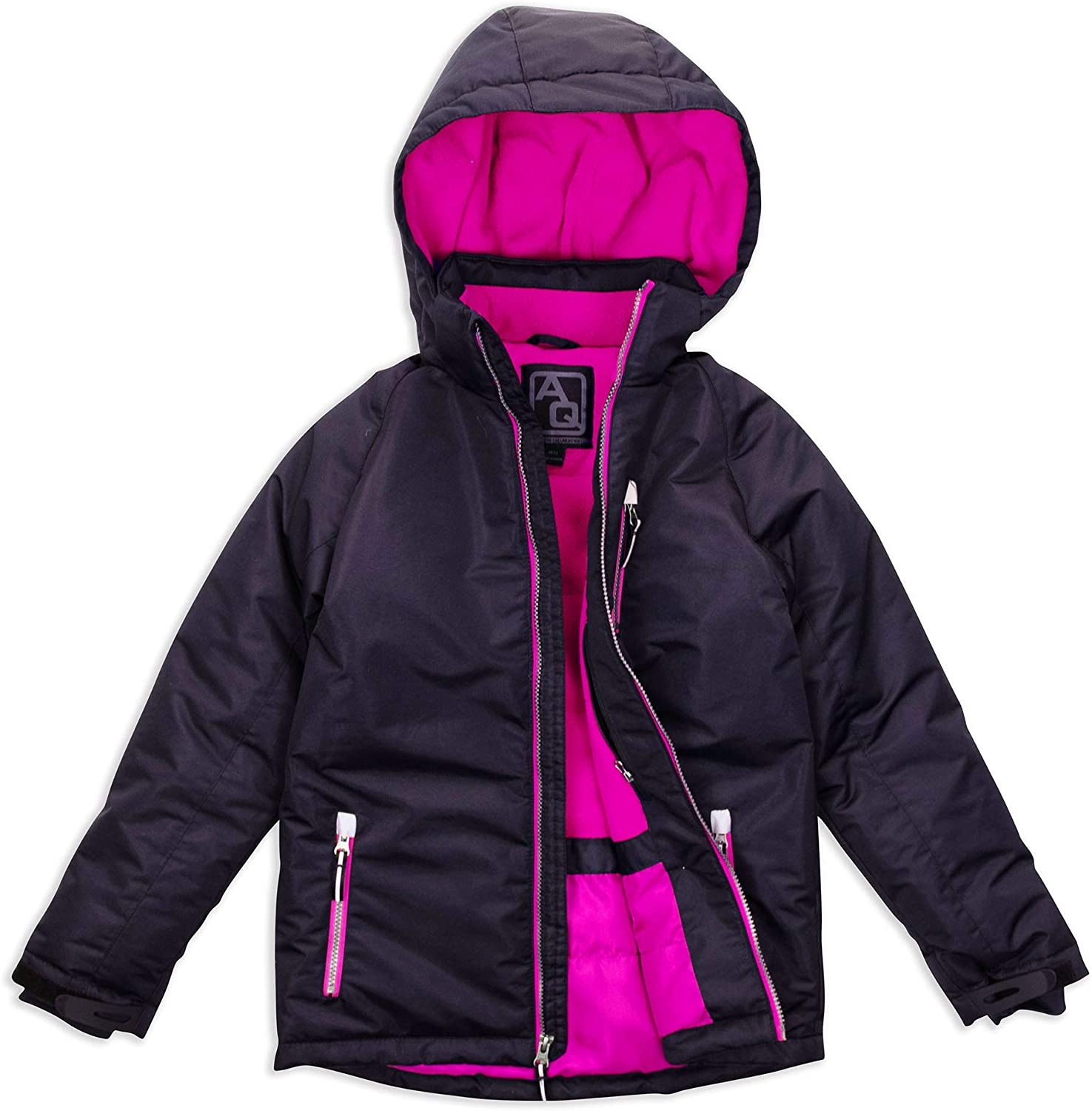 Arctic Quest Girls Windproof Max 65% OFF favorite Winter Hooded Waterproof Insulated