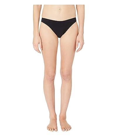 Stella McCartney 90s High Leg Bikini Bottoms (Black) Women