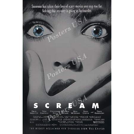 R204 SCREAM Movie Horror-Print Art Silk Poster