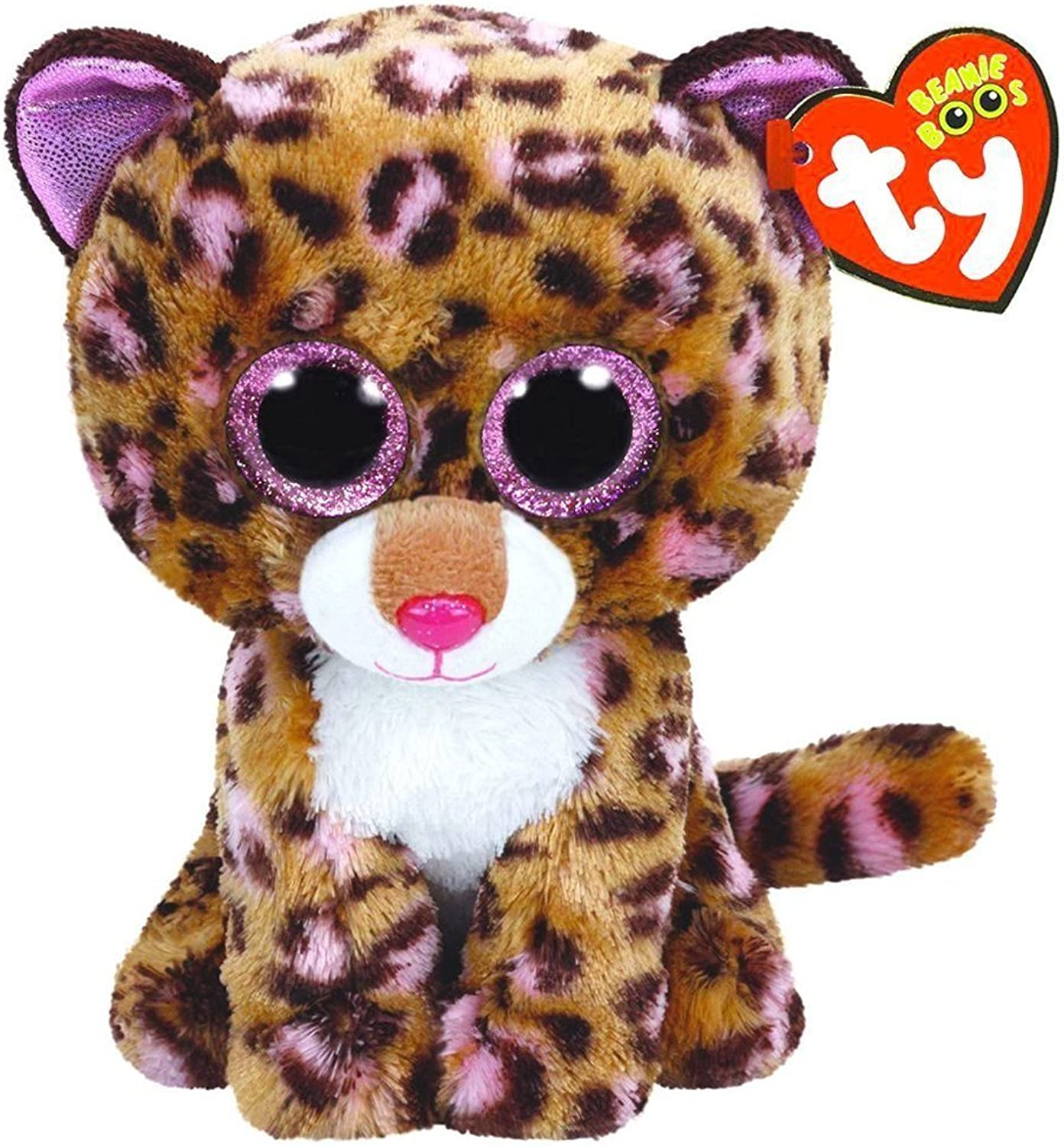 Ty Beanie Boos 10  BUDDY Patches the Leopard Gift Collections Plush Doll Toys