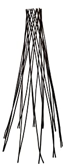 Master Garden Products Willow Round Teepee Trellis, 48-Inch