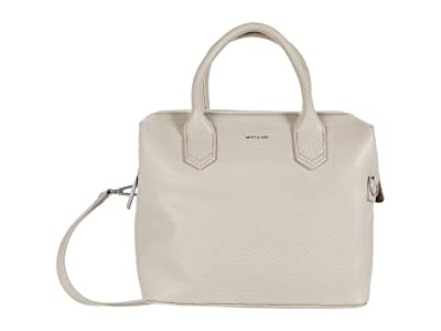 Matt & Nat Beige Dwell (Koala) Satchel Handbags