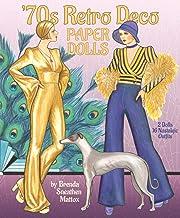 '70s Retro Deco Paper Dolls