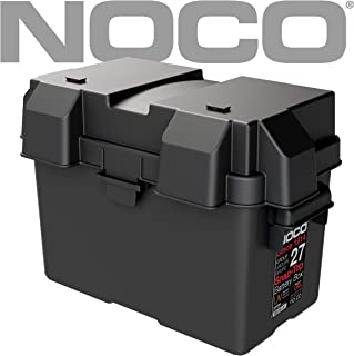 NOCO Black HM327BKS Group 27 Snap-Top Box for 12V Marine, RV, Boat, and Trailer Batteries