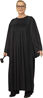 Unisex-Adult's Judge Costume, Black, Standard