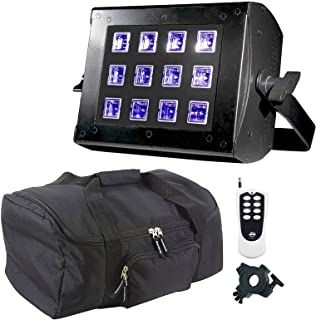 ADJ UV Flood 36 LED Blacklight & Remote Package
