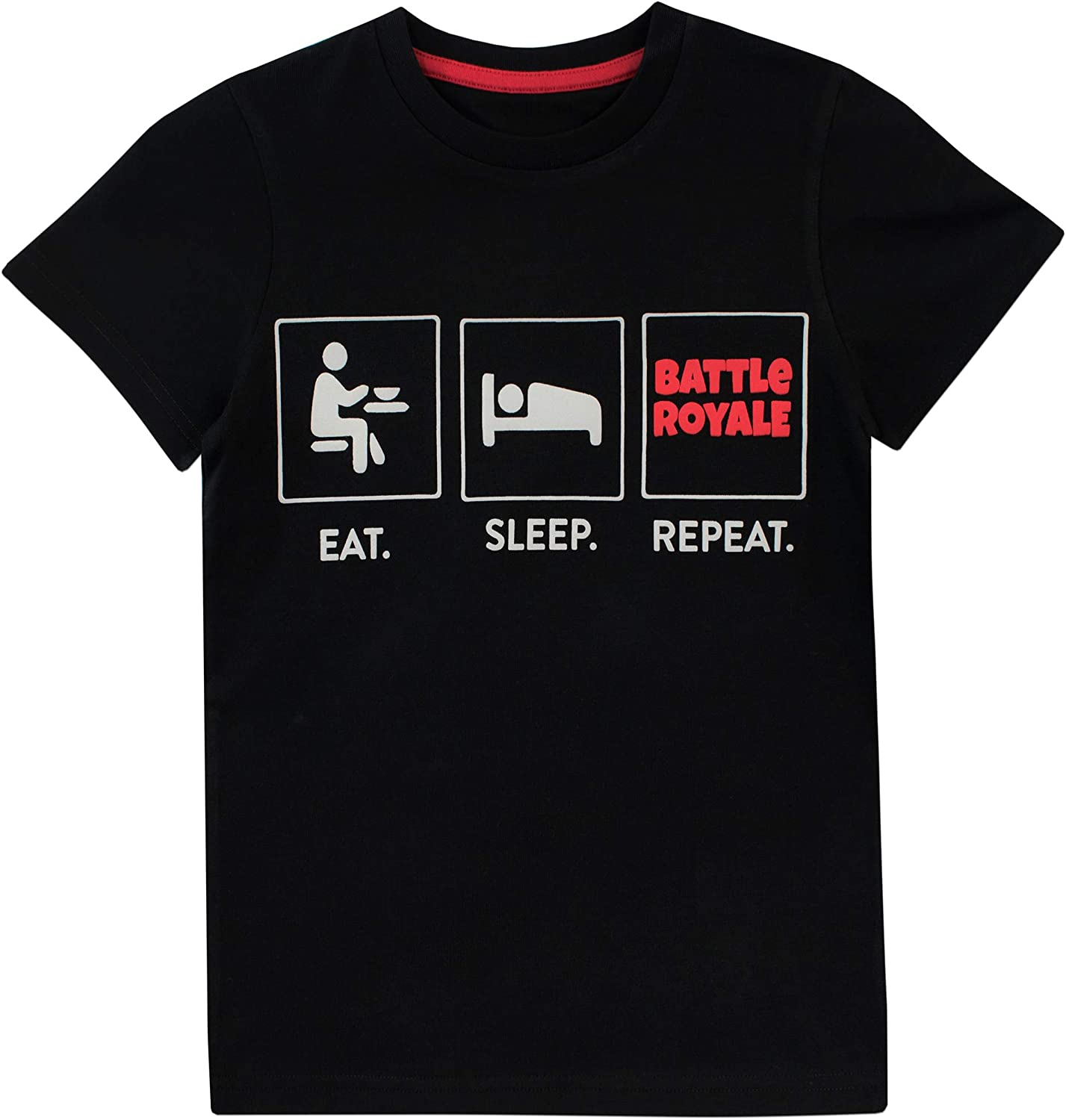 Genuine Free Shipping Battle Royale 2021 spring and summer new Boys' Gaming T-Shirt