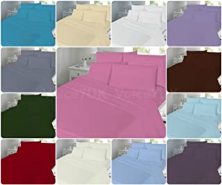 Night Zone Polycotton Percale 180 Thread Count Extra Deep Fitted Sheet