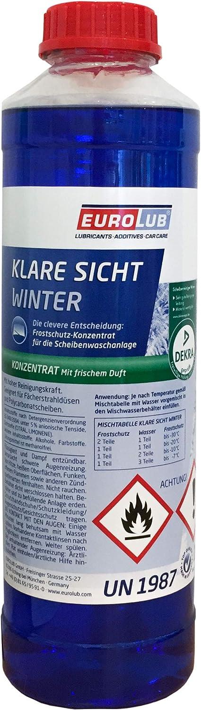 Eurolub Scheibenfrostschutz Klare Sicht Winter Konzentrat 1 Liter Auto