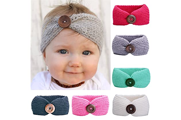 Baby Headbands Turban Knotted e3c07c20729