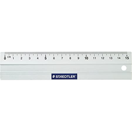 Staedtler 563 15 - Regla de metal 15cm