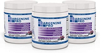 Sponsored Ad - L-arginine Pro, L-arginine Supplement - 5,500mg of L-arginine Plus 1,100mg L-Citrulline (Berry, 3 Jars)