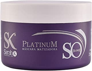So Blonde Platinum Hair Toner Mask – Deep Conditioning Hair Treatment for Blonde, Gray, and White Hair – Toning Color Conditioner Repairs, Neutralizes Brassiness, Lightens by Sarah K, 250 g/8.45 oz.