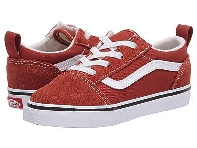 Vans Kids Old Skool Elastic Lace (Infant/Toddler) (Picante/True White) Kids Shoes