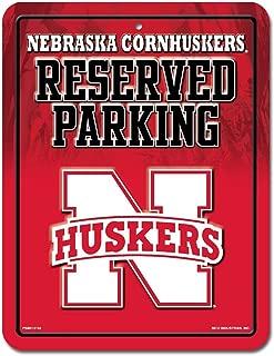 Nebraska Huskers Metal Parking Sign--(Package of 2)