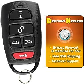 For 06-14 Kia Sedona 07-09 Hyundai Entourage Keyless Entry Remote Key Fob 5 Button SV3-100060233 SV3-VQTXNA13 5658A-00060233
